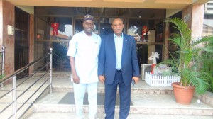 From left, Executive Secretary of Lagos State Security Trust Fund, Dr. Abdulrazaq Balogun with MD, LASAA, Mr. Mobolaji Sanusi