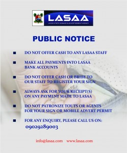 Public notice for coperate